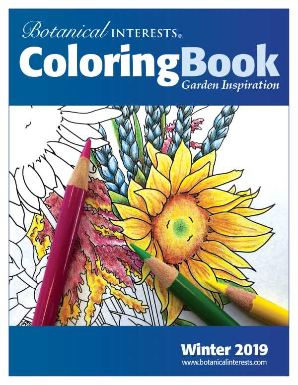 Botanical Interests Coloring Book