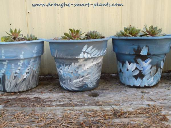 Painted Pots...