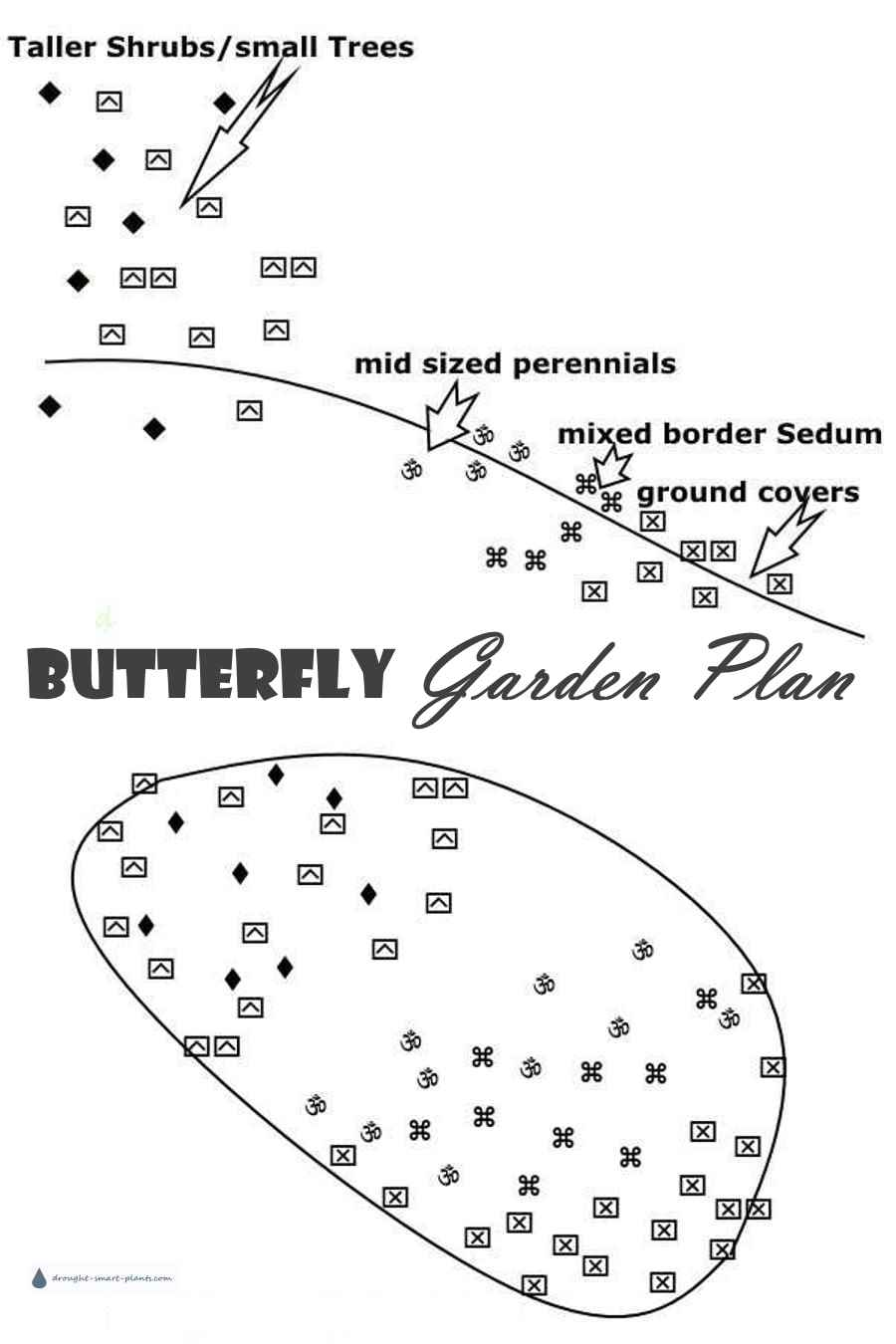 Butterfly Garden Plan - where to put it alll...