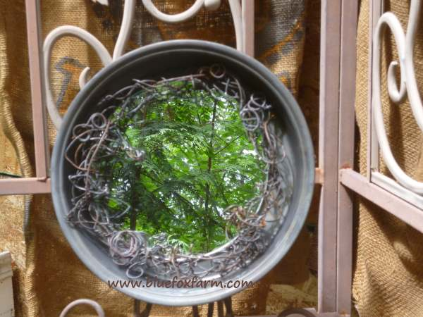 See more about making this Rustic Cake Tin Mirror...