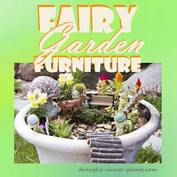 Fairy garden furniture tiny accessories for miniature for Garden accessories canada