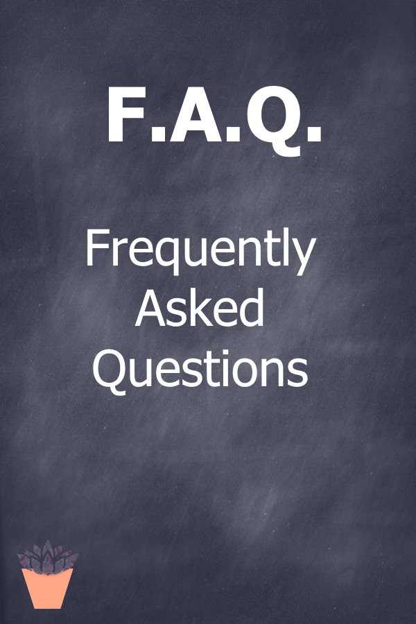 Frequently Asked Questions...