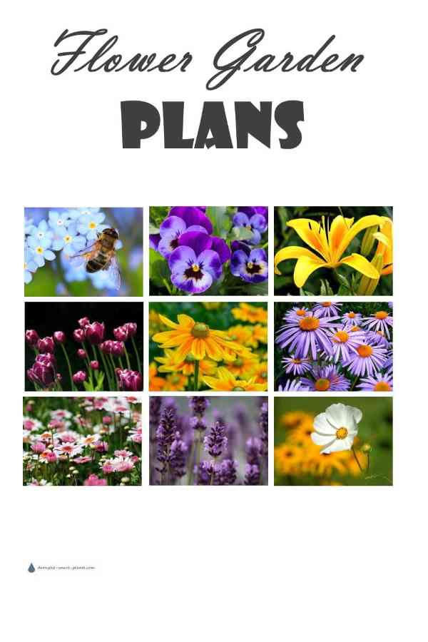 Flower Garden Plans - design your paradise