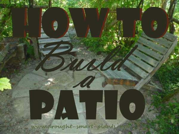 how to build your own patio