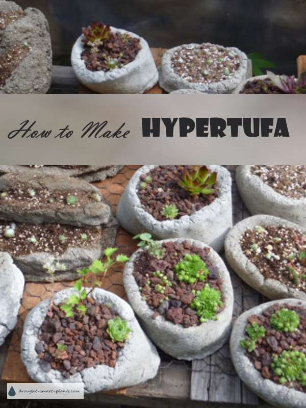 How To Make Hypertufa