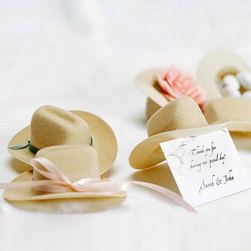 Adorable mini cowboy hats