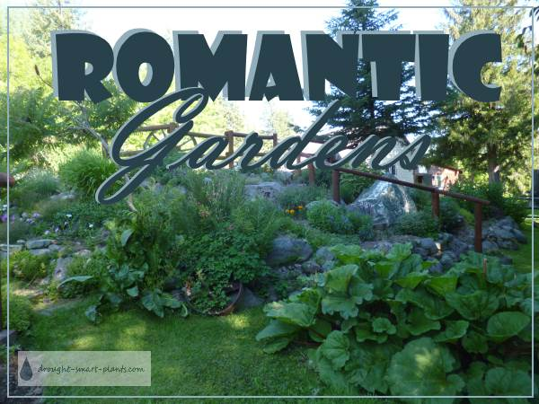 Romantic Gardens should always have something rustic or vintage