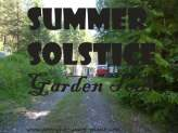 Summer Solstice - what the garden looks like in June