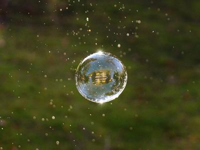 Soap Bubbles - where can I use grey water?