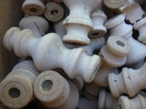 Spools with Mason Bee larvae already using then