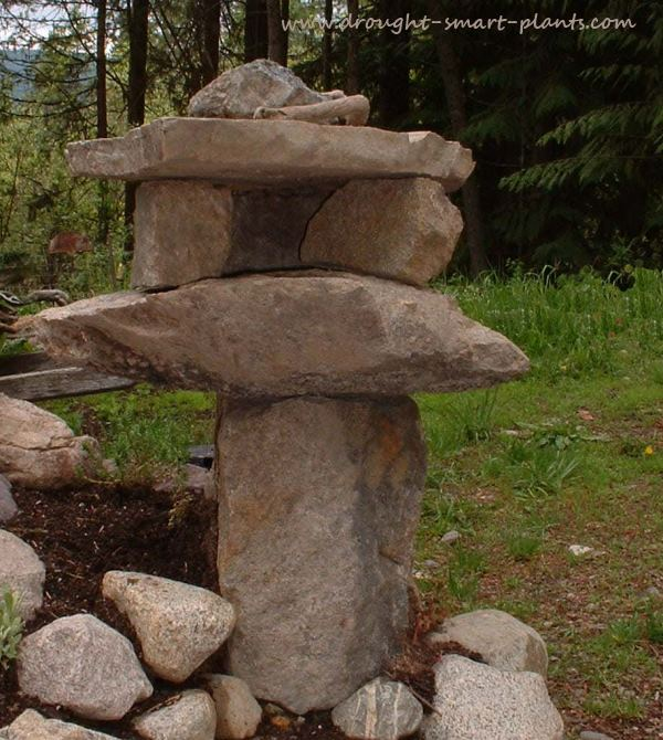 Japanese Lantern - find out more about Landscaping with Rocks