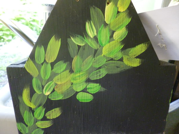Detail of the painting technique
