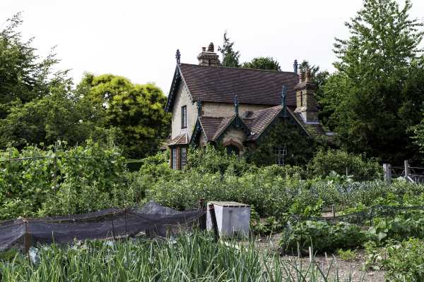 Edwardian Cottage with Potager still in  use