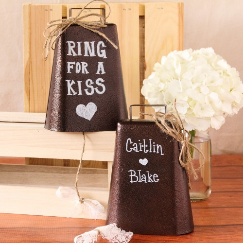 Ring for a kiss cowbells
