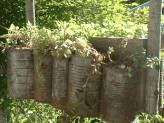 See Tin Can Planters on Blue Fox Farm