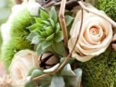 Succulent Wedding Flowers? Why not?