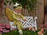 Fairies can be found in many places in your garden - bet you never thought they would show up in Easter baskets!
